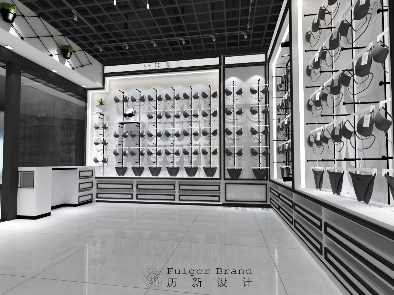 历新设计给你带来高级色调马道的黑白内衣改造太原市店铺坡街设计六合无绝对图片