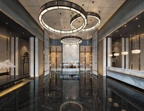 深圳盘石室内设计--财富城营销中心