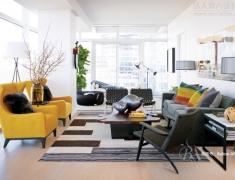 【色彩家】黄色客厅,为时尚加冕