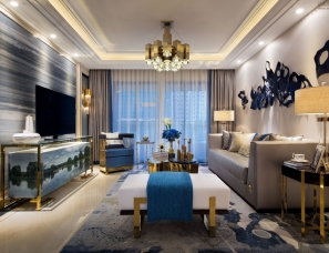 INNEST意巢设计--101 ㎡东莞金地集团琥悦Versace样板房