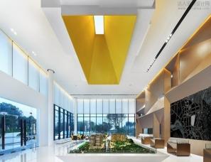 广州共生形态设计——天境花园销售中心