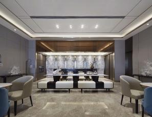 奥迅设计--上海中海戈雅园售楼部