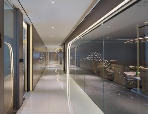 上海飞视装饰设计--1190㎡杭州现代时尚感的办公室