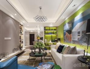 【成象设计】21℃的家——绿地泉景嘉园样板间