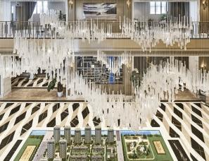 飞视设计--南昌绿地悦公馆售楼处