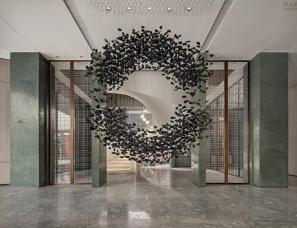 矩阵纵横设计--南京世茂天誉销售中心