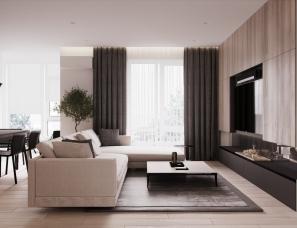 DEZEST设计--乌克兰优雅住宅105m²
