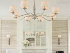 【色彩家】白色优雅客厅,自由的梦幻世界