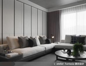 缤纷设计江欣宜--37坪现代风轻奢度假宅 饭店般的气势美学
