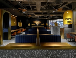 陈飞波设计--narai thai 泰国餐厅