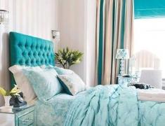 【色彩家】Tiffany Blue卧室,浪漫夏日清凉之选