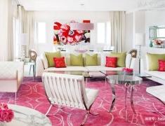 【色彩家】粉红色客厅,最美好的青春恋歌