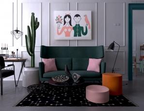 Daria Zinovatnaya设计--VITRA+UTOPIA