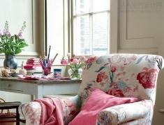 给家里添一张精致的花椅子吧