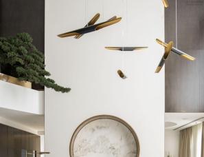 孟也设计--东方留白 | 北京远洋别墅1500平方米