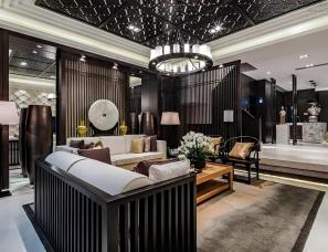 深圳昊泽空间设计--洛阳英和观唐D户型别墅样板间