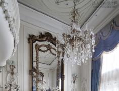 浪漫优雅的法式风格样板房软装设计