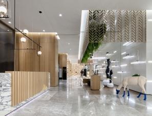 派尚设计 | 阳光100喜马拉雅,售楼处变身南开人文客厅