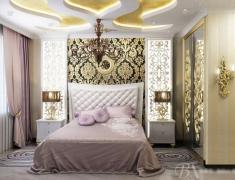 【色彩家】奢华卧室再现Art Deco风潮