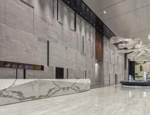 派尚设计丨中粮祥云国际展示中心 中西互见,诗意的交响