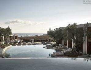 Block722设计--Olea全套房酒店,希腊