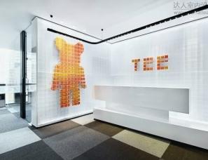 广州共生形态设计--保利珑远国际广场办公板房