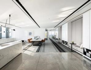 共生形态--广州绿地城T1栋办公样板房