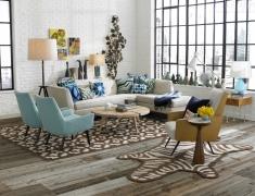 24个经典现代风格客厅软装配饰赏析