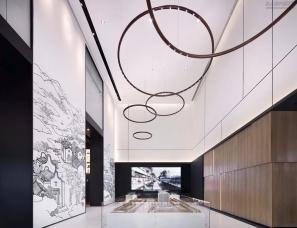 广州共生形态设计--佛山中惠璧珑湾销售中心