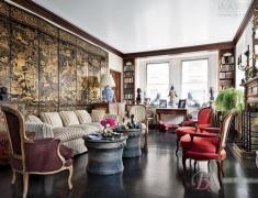 【色彩家】新中式客厅,重塑传统优雅之美