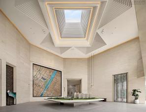 矩阵纵横设计--南京金地风华国际销售中心