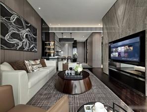 深圳矩阵纵横设计--重庆英利金融街公寓样板房