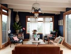 水泥墙、木板墙、涂鸦.用不羁的元素打造最时尚的家
