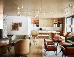 Carney Logan Burke Architects--怀俄明州 Caldera House 火山口酒店