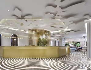 广州共生形态设计--美的鹭湖岭南花园酒店