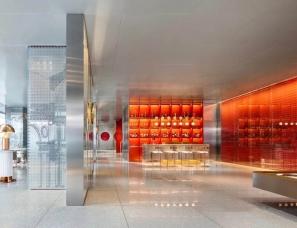 居其美业戴昆设计--中海首钢·长安云锦项目-售楼处