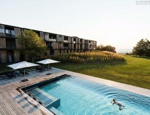 Ingenhoven Architects设计--心灵治愈系酒店