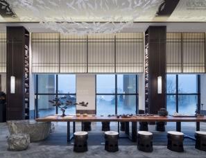 昊泽空间设计--华邦观湖别院售楼中心+别墅样板间
