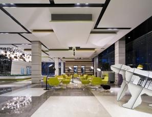 广州共生形态设计--万科金色领域售楼部