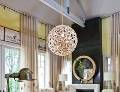 【色彩家】黄色优雅客厅,啼转天籁的夜莺