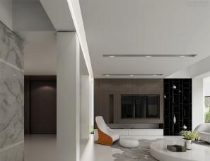 上海孙建亚设计别墅改造项目--白色光影