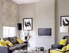 【色彩家】高级灰客厅,展现独特优雅气质