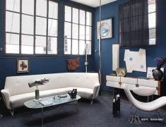 【色彩家】灰蓝色客厅,怀念似水流年