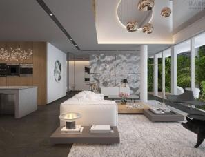 孟也设计--三亚钻石海岸S4A别墅570m²设计方案