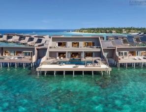 WOW Architects--马尔代夫 瑞吉度假村酒店