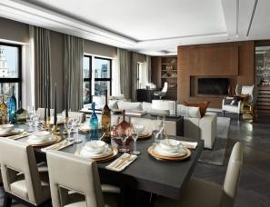 honky设计--london Penthouse Apartment