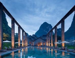 水平线空间设计--阿丽拉阳朔糖舍酒店