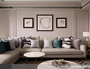 缤纷设计江欣宜新作--优雅又时髦!跳脱奢华框架的新古典