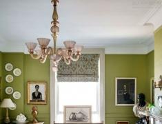 【色彩家】抹茶绿客厅,止不住的浪漫想象