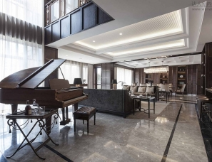 DIA丹健国际设计--上海 华侨城苏河湾 滨水大宅